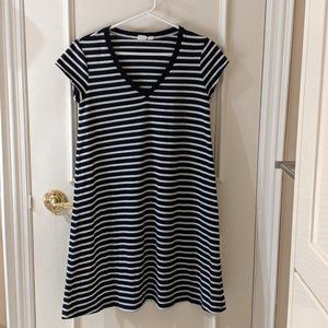 GAP Striped T-Shirt Dress